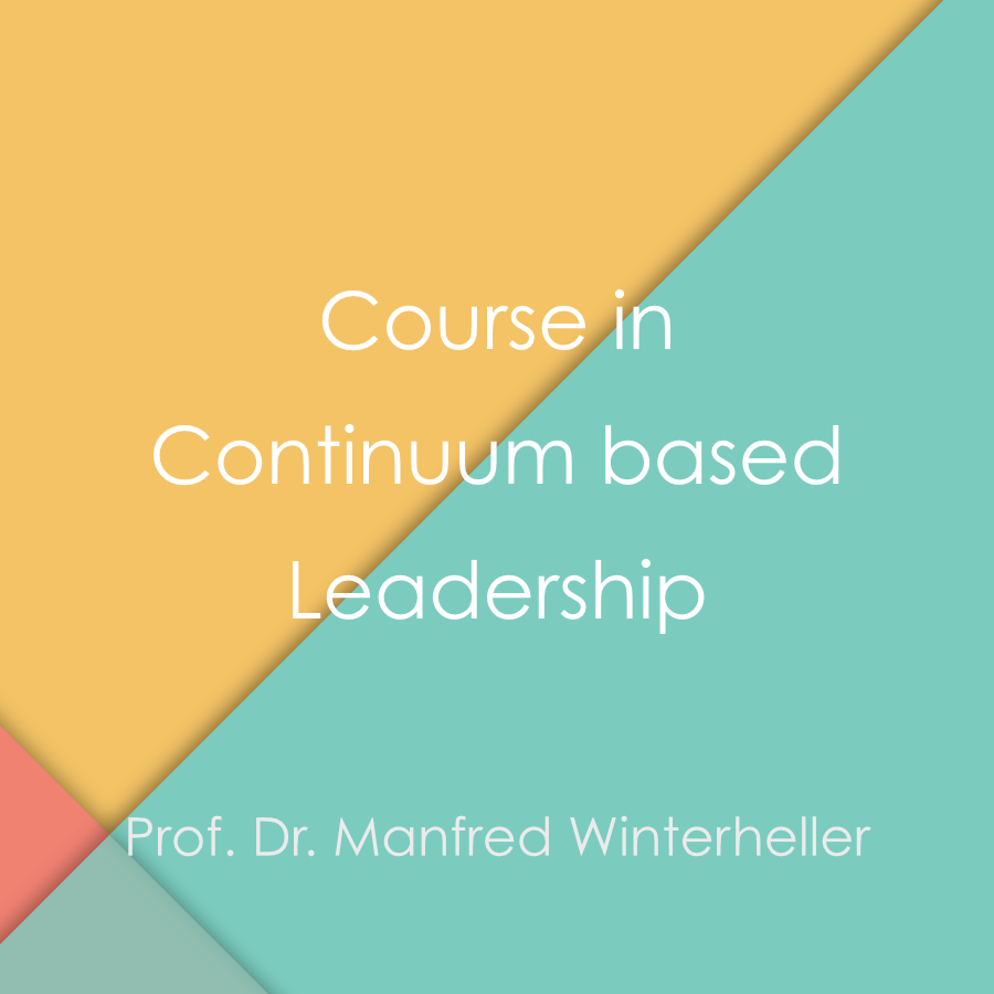 A course in continuum based leadership